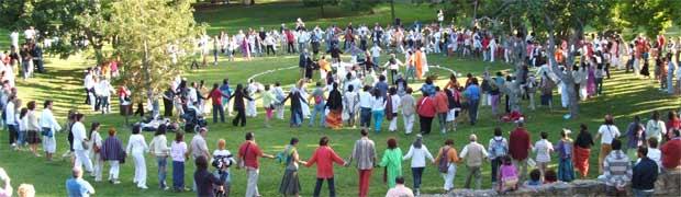 A simbologia das Danças Circulares